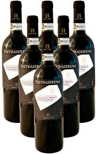 Poggio Al Vento Chianti Colli Senesi DOCG Pietraserena Vino Tinto Italiano (6 botellas 75 cl.)