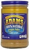 Adams 100% Natural Creamy Peanut Butter, 36 Ounces