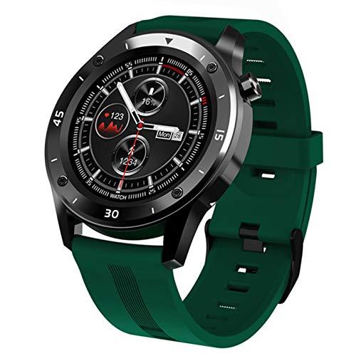 LDJ Nuevo F22S Deportes Bluetooth Call Smart Watch Hombres Mujeres Regalo Smart Smartwatch Fitness Tracker Pulsera Presión Arterial para Android iOS,C