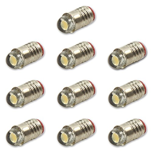 Evemodel E501WM - Lampadina a LED 12 V-14 V, per attacco E5 E5.5 H0 Bulb