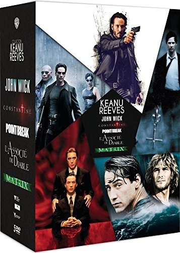 Keanu Reeves: John Wick + Constantine + Point Break + L'associé du Diable + Matrix [Italia] [DVD]