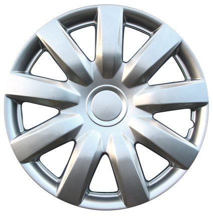 "Drive Accessories KT-985-15S/L, Toyota Camry, 15"" Silver Lacquer Replica Wheel Cover, (Set of 4)"