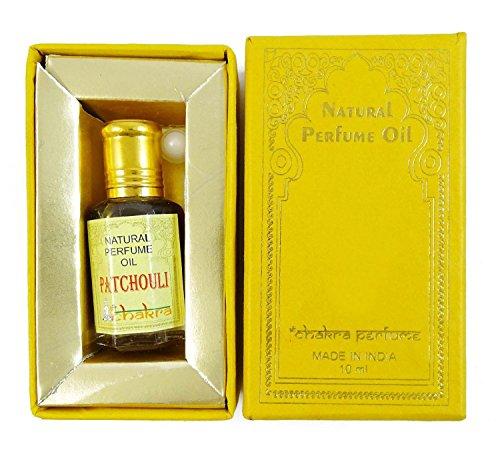 Chakra Naturparfum Patchouli Duft 100% reines Naturparfum Öl 10ml