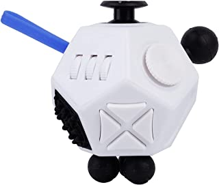 Beauenty Fidget Dodecagon 12 Sides Fidget Cube Relieves Stress And Anxiety Toys for Children and Adults (A2)