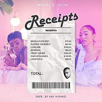 Receipts (feat. Allyn)