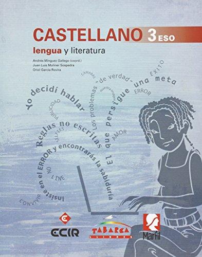 CASTELLANO, Lengua y Literatura 3 ESO - Paquete de 2 libros