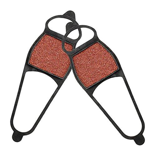 Baoblaze 1 Paire de Crampons Antiderapante Chaussure Talon Grip Pad Accessoire Randonnée Facile