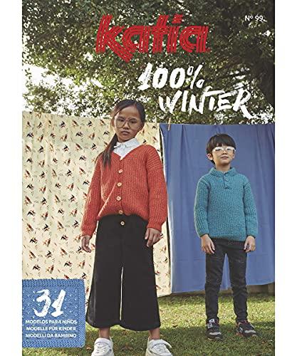 Schuhundtextilshop Cuaderno de instrucciones Katia 100% invierno para niños, 31 instrucciones