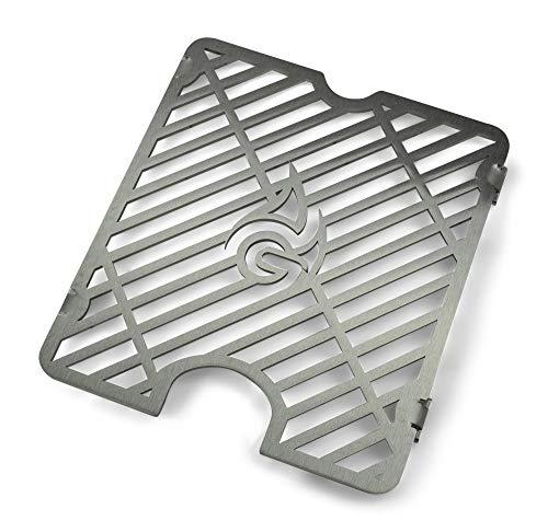 Edelstahl Ersatz-Grillrost passend für die kleine Sizzle Zone des Napoleon Rogue R365 R425 R525 SIB