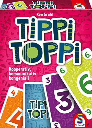 Schmidt Spiele 75051 Tippi Toppi, Familienkartenspiel, bunt