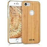kalibri Funda Compatible con Apple iPhone 7/8 - Carcasa Trasera de bambú - Cover Ultra Delgado -...
