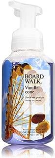 Bath & Body Works Gentle Foaming Hand Soap Boardwalk Vanilla Cone 2018