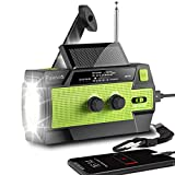 Best Solar Radios - [2020 New Version] Emergency-Hand-Crank-Radio,4000mAh Portable Weather Solar Radios Review
