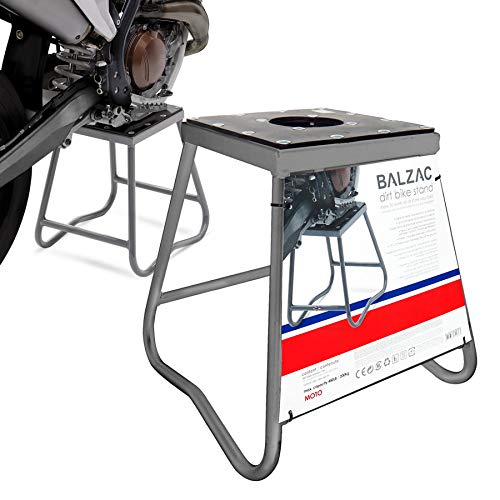 Caballete elevador de moto fijo para scooter, capacidad de carga de 200 kg, para Cross/Enduro