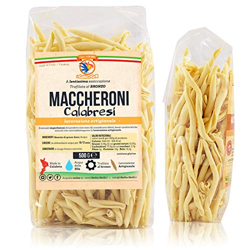 Maccheroni Calabresi al ferretto - Trafilata al bronzo - 500g