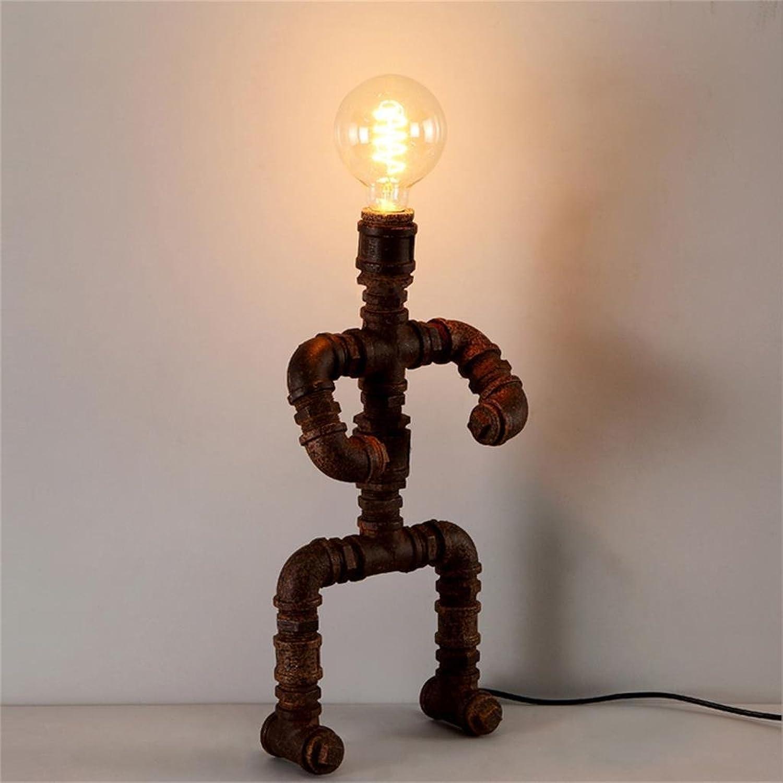 Shopping-Retro Bar-Café Persönlichkeit Eisen-Lampe Licht Reminiscence B01HNZF6M6     | Einfach zu bedienen