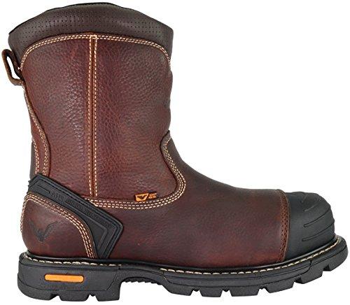 "Thorogood 804-4440Men's Gen-flex28"" Insulated Waterproof Composite Safety Toe Boot, Brown Side Zip - 9.5 M US"