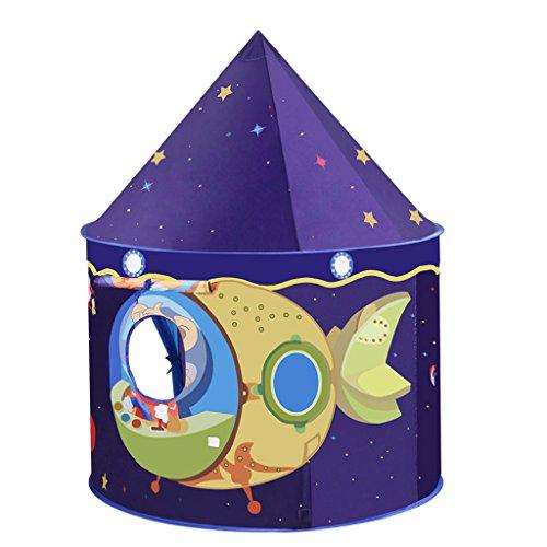 Sharplace Casetta Giocattolo Tenda Gioco Modello Casa Esterna Regali Per Bambini Metallo Blu