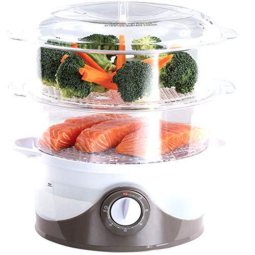 ONOGAL Cocedor electrico para cocer al Vapor arroz y Alimentos Verduras Pescado 6L 6364