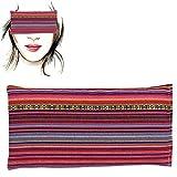 Almohada para los ojos 'Alpujarreña rosa' | Semillas de Lavanda y arroz | Yoga, Meditación,...