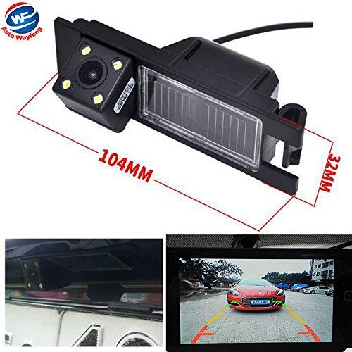 Auto Wayfeng WF® HD CCD Caméra Voiture Imperméable Voiture Inversée Caméra de Recul Rearview avec 4LEDs pour Alfa Romeo 156 159 166 147 Brera Spider 05