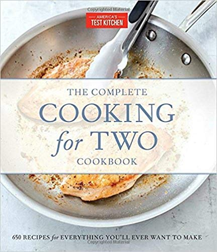 [By America's Test Kitchen] The Complete Cooking for Two Cookbook, Gift Edition: 650 Recipes for Everything You'll Ever Want to Make-[Hardcover] Best selling books for -|Cooking for One or Two|