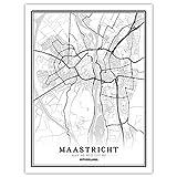 Lonfenner Leinwand Bild,Maastricht Niederlande Abstrakte