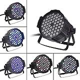 Luz de Escenario Modern Simplicity, Flash de Fiesta de Discoteca para DJ, 54 Leds, Puede Ajustar automáticamente la luz, Activado por Sonido, Clasificación de Resistencia al Agua IP65, Fácil