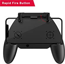 PUBG Mobile Controller COD Mobile Game Controller with Auto Mode Fire Button, Capacitance Mapping L1 R1 Aim and Shoot Triggers Gamepad, Joystick Remote Grip for 4.7-6.5