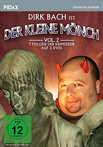 Der kleine Mönch, Vol. 2 / Weitere sieben Folgen der humorigen Krimiserie mit Comedy-Star Dirk Bach (Pidax Serien-Klassiker) [2 DVDs]