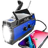 Best Noaa Radios - Emergency Radio Hand Crank Solar, 4000mAh Portable Weather Review