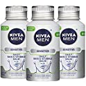 3-Pack Nivea Men Sensitive Skin & Stubble Balm 12.6 Fl Oz
