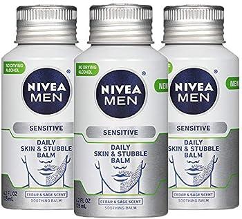 3-Pack Nivea Men Sensitive Skin & Stubble Balm 12.6 Fl Oz