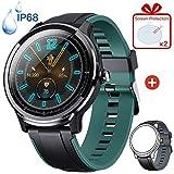 KOSPET Smartwatch, Sportuhr Full-Touchscreen Fitnessuhr IP68 Wasserdicht Fitness Armbanduhr mit...