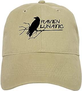 CafePress Raven Lunatic Halloween Baseball Baseball Cap