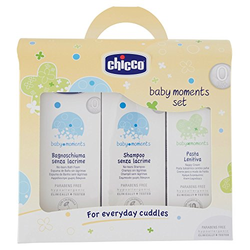 Chicco 3207 Cofanetto Bagnoschiuma E Shampoo Senza Lacrime Pasta Lenitiva