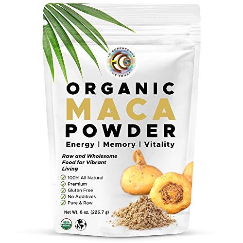 Earth Circle Organics - Organic Maca Root Powder,...