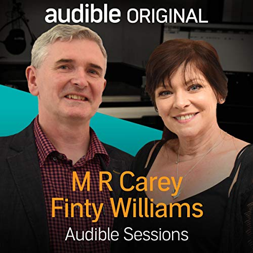 M. R. Carey and Finty Williams audiobook cover art