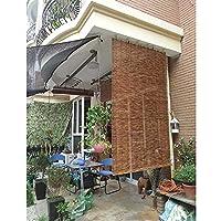 KAXO 竹カーテン - 日焼け止め葦ブラインド - ライトフィルタリングローラーシェード、屋内/屋外の窓、ポーチ、織りストローカーテン、防湿ブラインド、W60Xh150Cm / 23.5 * 59 In,W150Xh235Cm/59*92.5In