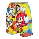 FGN 2021 Fashionable Hedgehog Sonic Mania Up Quick Dry Beach Swim...