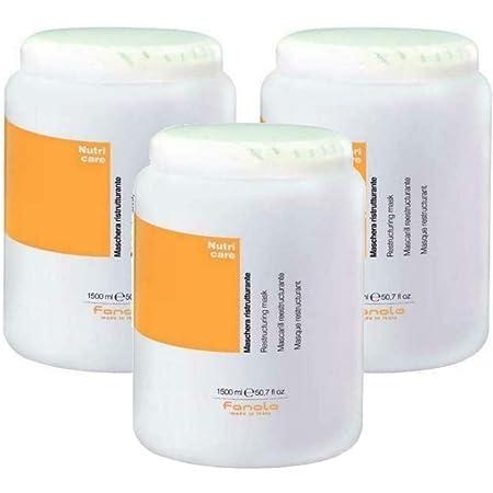 3X Maschera Ristrutturante Fanola Nutri Care - 1500 ml