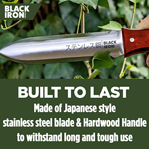 Black Iron Attican Hori-Hori Knife