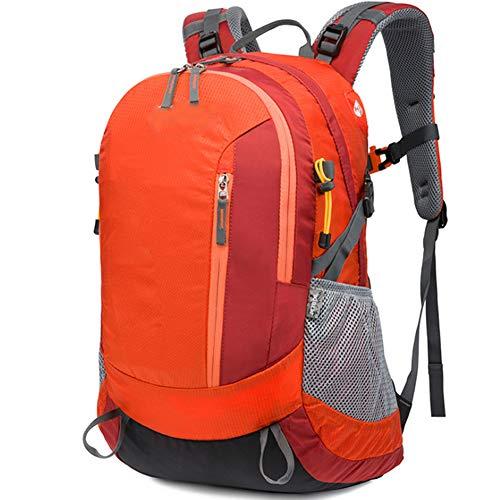 M STAR Outdoor Mountaineering Sports Bag Travel Nylon Student School Bag Waterproof Hiking Camping Ultra Light Backpack,orange