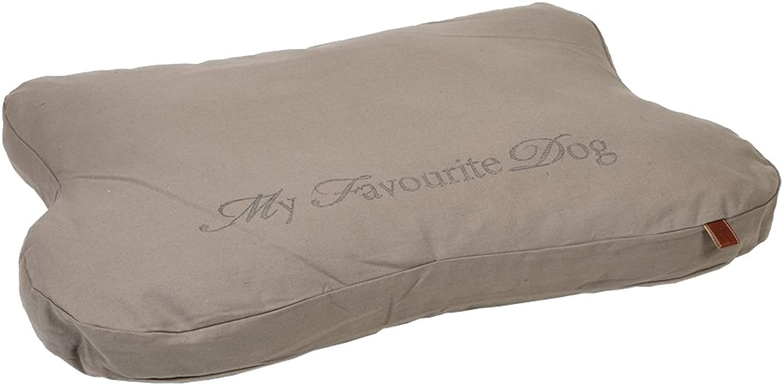 Designed by Lotte Dog Rest Cushion Posh, 99 x 68 x 6 cm, Beige
