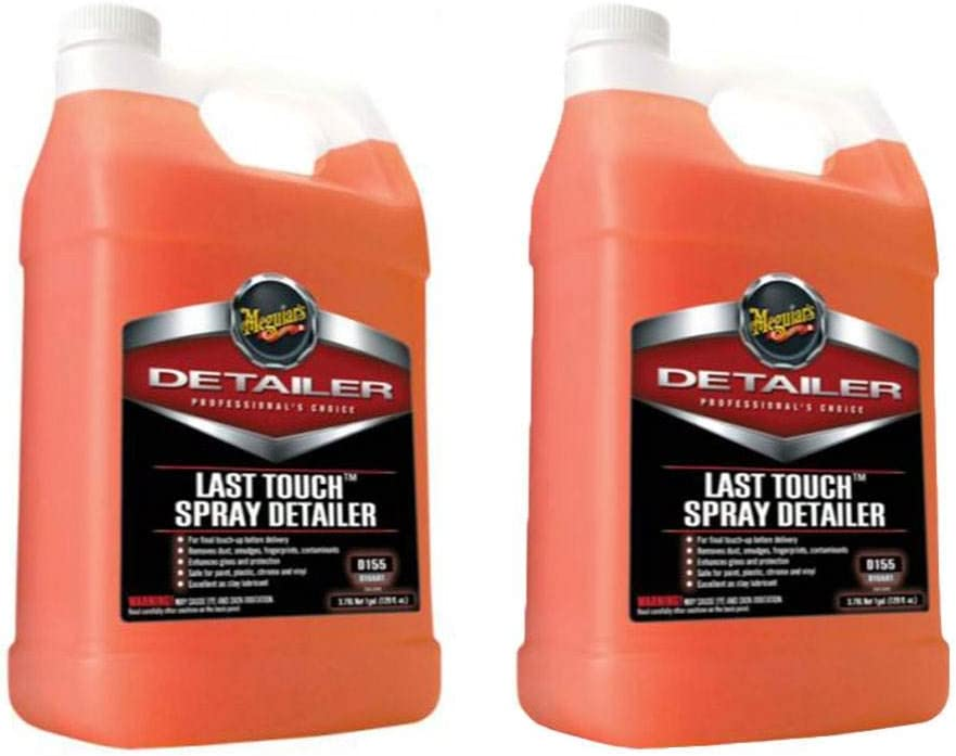 Meguiar's Excellence Detailer 1 Gal Multisurface Car Time sale Detai Spray Last Touch
