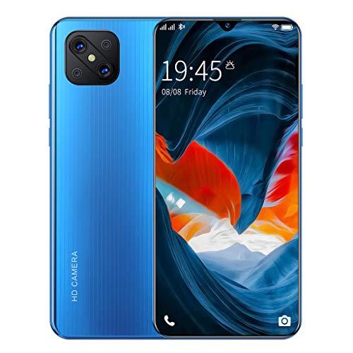 Teléfono Móvil, A92s Android 10.0, Teléfonos Inteligentes 5G Sin SIM Desbloqueados, Pantalla Completa de Gota de Rocío de 6.7 Pulgadas, Cámara Dual de 16MP + 32MP, 8GB + 256GB, Face ID