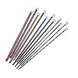 11 PCS Different Sizes Assorted Colors Crochet...