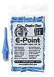 Empire Dart Softdartspitzen - E-Point - 2BA - kurz - blau - 100 Stück