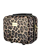 Koffer Reisekoffer Hartschalen Trolly Puccini Beverly Hills (Leopard Beige 6, Beautycase)