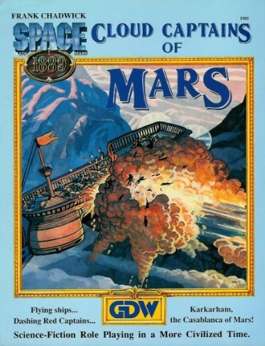 Cloud Captains of Mars (Space 1889)